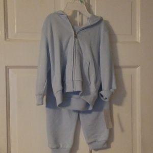 Ralph Lauren 2 piece sweatsuit